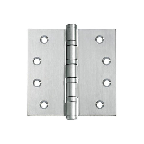 Tradco 'HINGE - BALL BEARING' Satin Chrome 2764 100mm x 100mm
