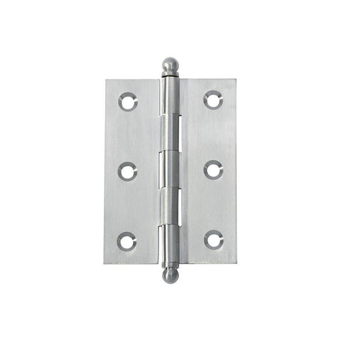 Tradco 'HINGE - LOOSE PIN' Satin Chrome 2775 85mm x 60mm