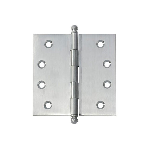 Tradco 'HINGE - LOOSE PIN' Satin Chrome 2779 100mm x 100mm