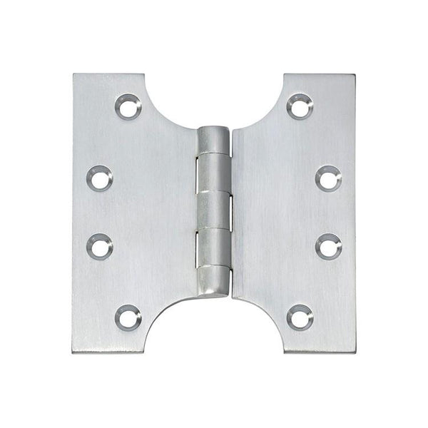 Tradco 'HINGE - PARLIAMENT' Satin Chrome 2780 100mm x 100mm