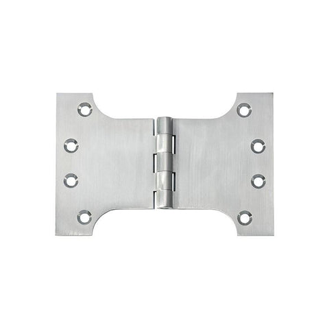 Tradco 'HINGE - PARLIAMENT' Satin Chrome 2782 100mm x 150mm