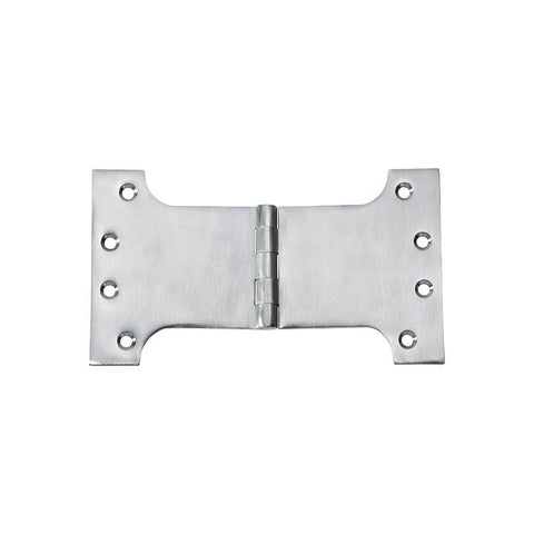 Tradco 'HINGE - PARLIAMENT' Satin Chrome 2783 100mm x 175mm