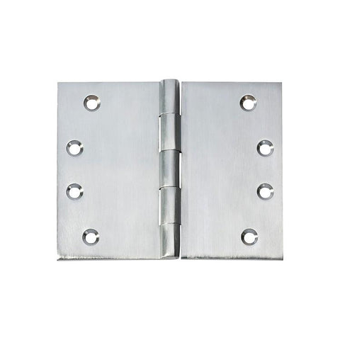 Tradco 'HINGE - BROAD BUTT' Satin Chrome 2790 100mm x 125mm