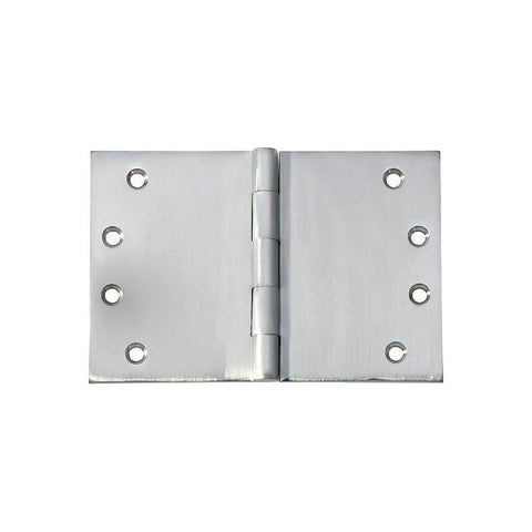 Tradco 'HINGE - BROAD BUTT' Satin Chrome 2791 100mm x 150mm