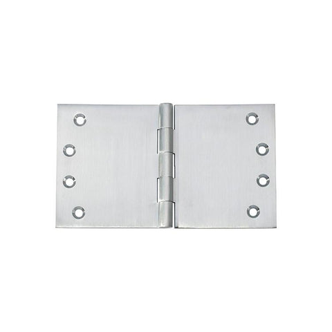 Tradco 'HINGE - BROAD BUTT' Satin Chrome 2792 100mm x 175mm