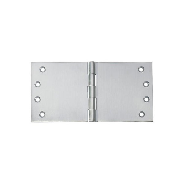 Tradco 'HINGE - BROAD BUTT' Satin Chrome 2793 100mm x 200mm