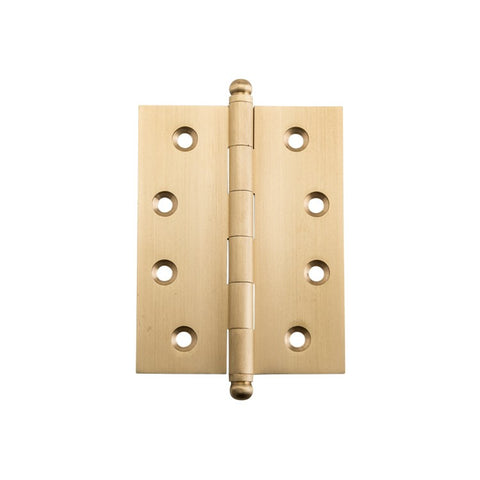 Tradco Hinge Loose Pin Satin Brass H100mm x W75mm 2828