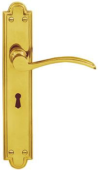 DELF ARCHITECTURAL LEVER LOCK FURNITURE 244*44MM