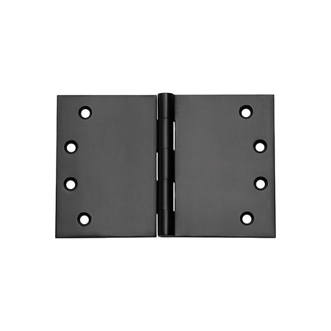 Tradco 'BROAD BUTT HINGE' Matt Black H100 x W150mm 2991