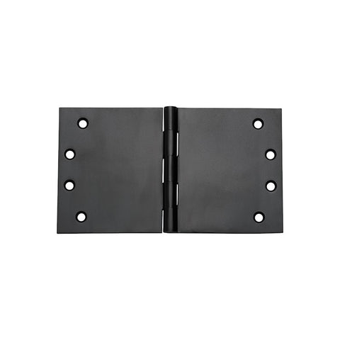 Tradco 'BROAD BUTT HINGE' Matt Black H100 x W175mm 2992