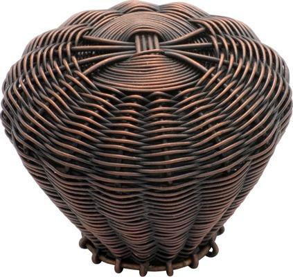Tradco 'WIRE' CUPBOARD KNOB Copper 42mm 3014