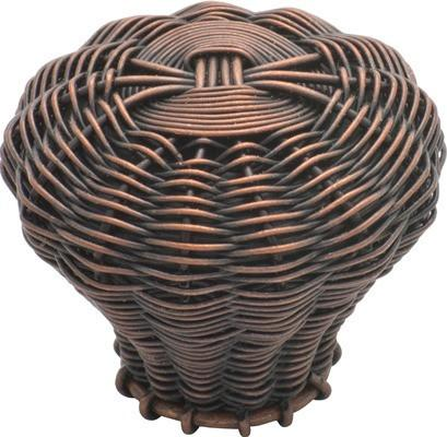 Tradco 'WIRE' CUPBOARD KNOB Copper 35mm 3015