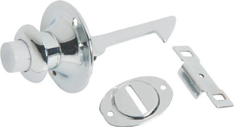Tradco 'DECO' PUSH BUTTON CATCH Chrome Plate 3103
