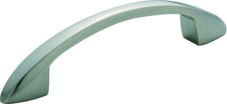 Tradco 'CONTEMPORARY' PULL HANDLE Chrome Plate 100mm 3164