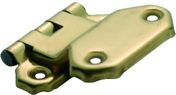 Tradco 'FOLD OVER OFFSET HINGE' Polished Brass 45 x 42mm 3769