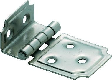 Tradco 'OFFSET HINGE' Satin Nickel 50 x 30mm 3797