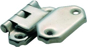 Tradco 'FOLD OVER OFFSET HINGE' Satin Nickel 45 x 42mm 3799