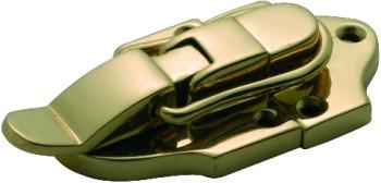 Tradco 'SUITCASE CATCH' Polished Brass 70 x 38mm 3801