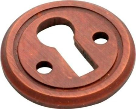 Tradco 'ROUND ESCUTCHEON' Antique Brass 23mm 3829