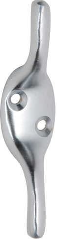 Tradco 'CLEAT HOOK' Satin Chrome 75mm 3974