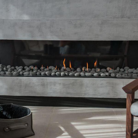 Ortal Three Sided Clear 200 TS Gas Fireplace
