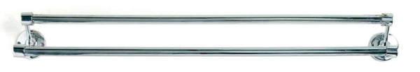 Tradco 'DOUBLE TOWEL RAILS' Chrome Plate 4860 600mm