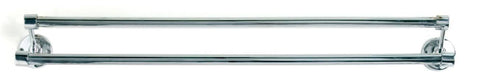 Tradco 'DOUBLE TOWEL RAILS' Chrome Plate 4861 900mm