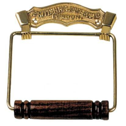 Tradco 'BRITISH TOILET ROLL HOLDER' Polished Brass 4882