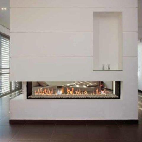 Ortal Tunnel Clear 200 Gas Fireplace