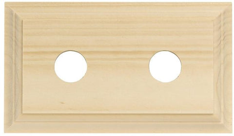 Tradco 'DOUBLE CLASSIC PINE BLOCK' 5422 155mm X 90mm