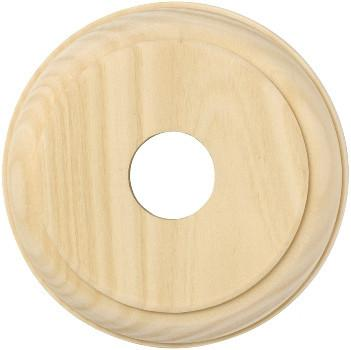 Tradco 'SINGLE ROUND PINE BLOCK' 5440 90mm