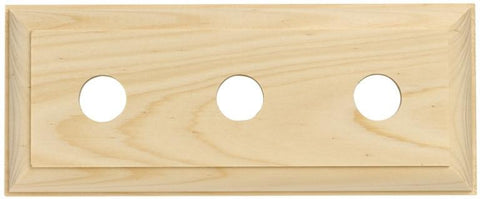 Tradco 'TREBLE TRADITIONAL PINE BLOCK' 5443 225mm x 90mm