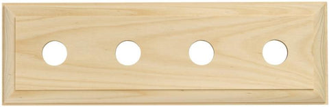 Tradco 'QUAD TRADITIONAL PINE BLOCK' 5444 280mm x 90mm