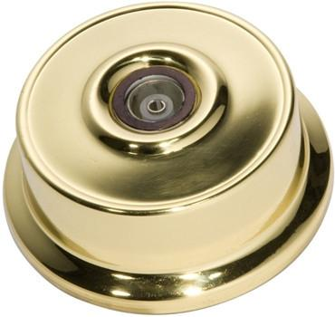 Tradco 'FEDERATION TV SOCKET' Polished Brass 5490