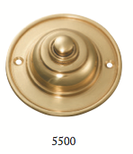 Tradco 'BELL PUSH' Polished Brass 5500 75mm