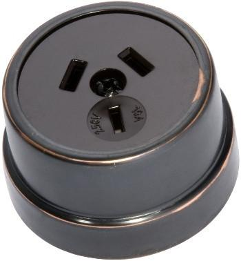 Tradco 'TRADITIONAL SOCKET' Antique Copper 5679