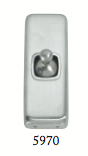 Tradco 'TOGGLE SWITCH' Satin Chrome 5970 30mm x 82mm