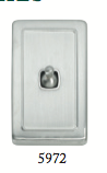 Tradco 'TOGGLE SWITCH' Satin Chrome 5972 72mm x 115mm