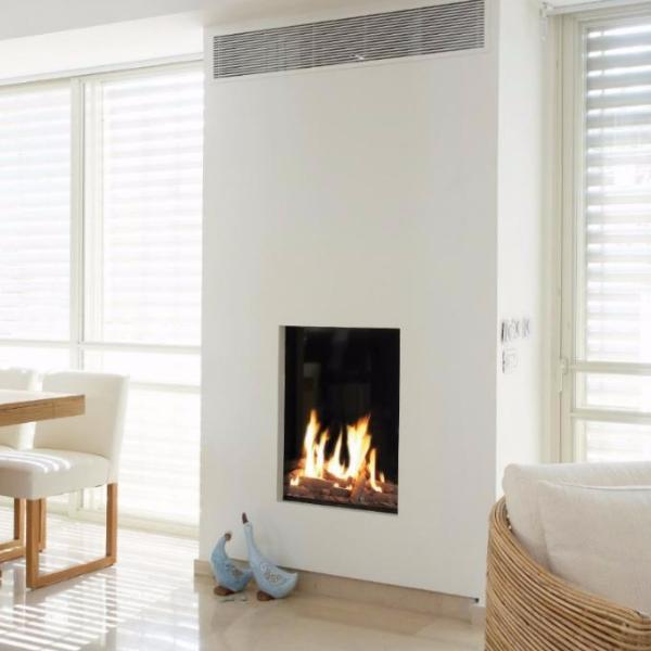 Ortal Front Facing Clear 60 x 80 Gas Fireplace