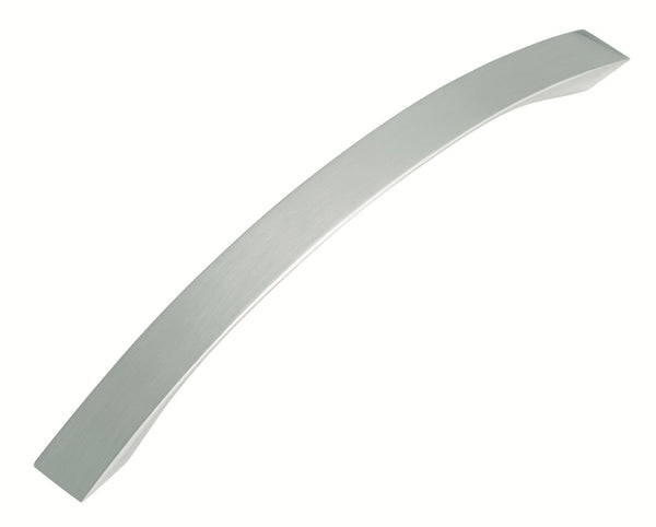 Tradco 'PULL HANDLE' Satin Nickel 7041 230mm  Centre to Centre length 192mm  width 20mm