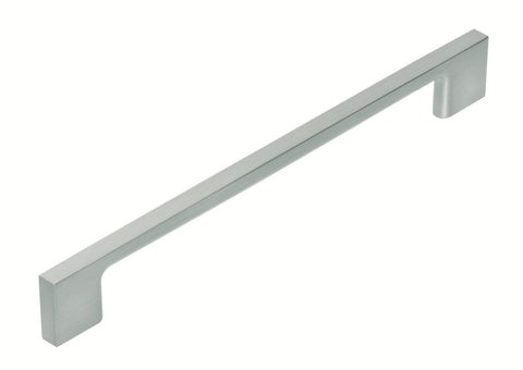 Tradco 'PULL HANDLE' Satin Nickel 7081 225mm