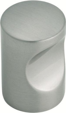 Tradco 'CUPBOARD KNOB' Satin Nickel 7177 22mm