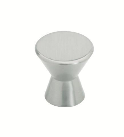 Tradco 'CUPBOARD KNOB' Satin Nickel 7182 25mm