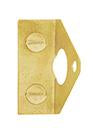 DELF ARCHITECTURAL RIGHT ANGLE KEEPER FOR 9.5MM BOLT