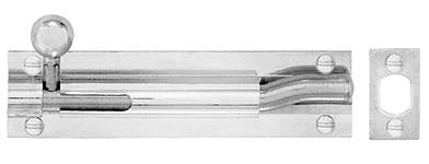 DELF ARCHITECTURAL 150X25X8MM O/Set BARREL BLT THROW-20MM D8356