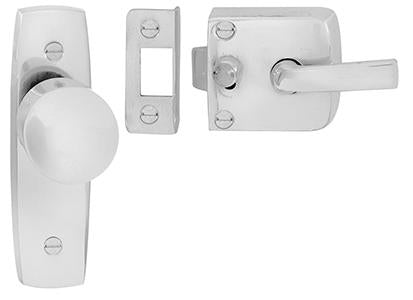 DELF ARCHITECTURAL CP    SCREEN DOOR LATCH ASSEMBLY (PLAIN)
