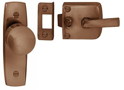 DELF ARCHITECTURAL FB    SCREEN DOOR LATCH ASSEMBLY (PLAIN)