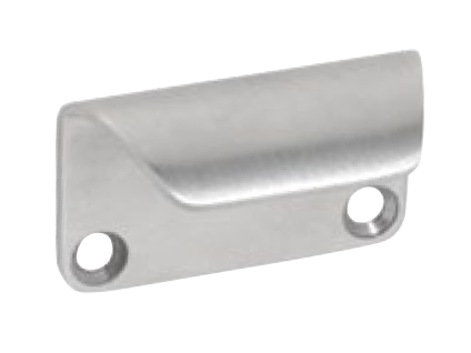 Tradco 'BYRON SASH LIFT SS' Stainless Steel 8707 45mm x 28mm