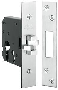 DELF ARCHITECTURAL SS  CYLINDER SLIDING LOCK CASE  76MM