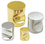 DELF ARCHITECTURAL CP  CUPBOARD KNOB - 25MM (2 PER PACK) D9582CPP